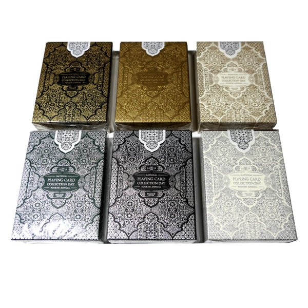 NPCCD 2019 Playing Cards by Seasons Moroccan Palace Full 6-Decks #200