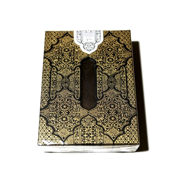 NPCCD 2019 Playing Cards Seasons Black & Gold Zellij Room #162 of 499