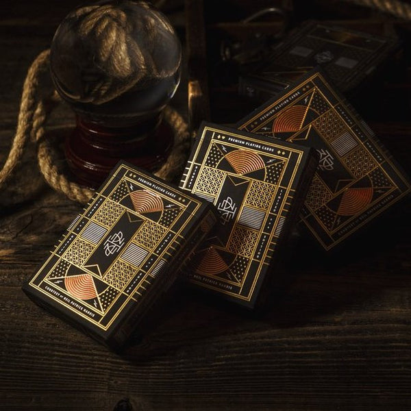 NPH Neil Patrick Harris Playing Cards by Theory 11 Luxury Gold Bronze Copper