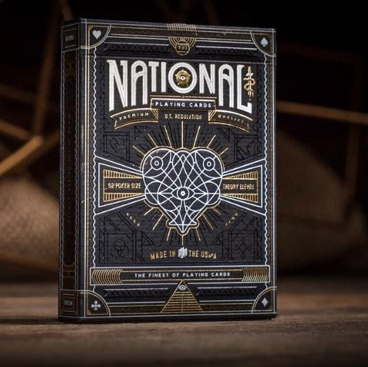 Buyworthy:National Playing Cards Premium Deck by Theory 11 Made in USA Brand New & Sealed
