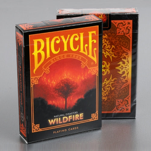 Natural Disasters Playing Cards Collector Wildfire Edition Sealed