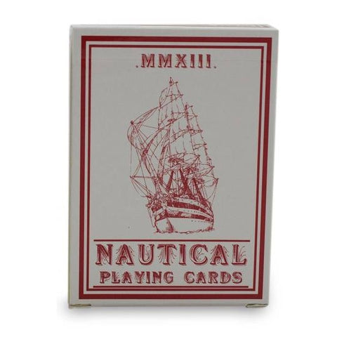 Nautical MMXIII Playing Cards Red Anchor Back since 1989 deck