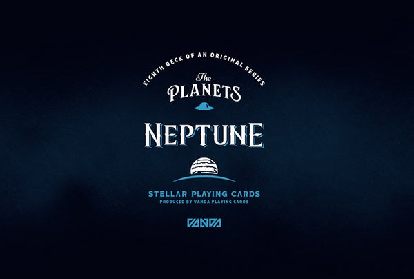 The Planets Neptune Playing Cards Vanda Artist Series Holographic Foil