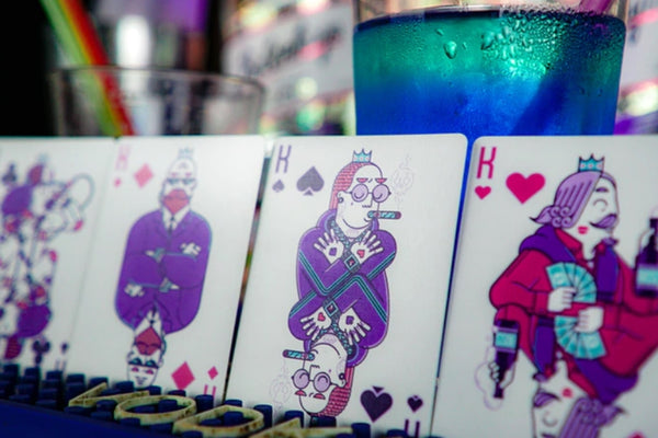 Nightclub Playing Cards UV Edition by Riffle Shuffle Fully marked