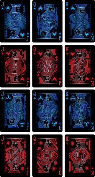 Buyworthy:Nocturnal Playing Cards Night Dark Poker Magic Deck Made in the USA Brand New