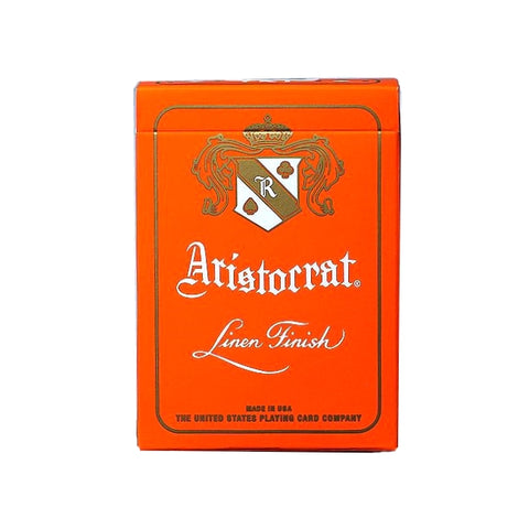 Aristocrat Orange Edition Playing Cards Deck Poker Premium