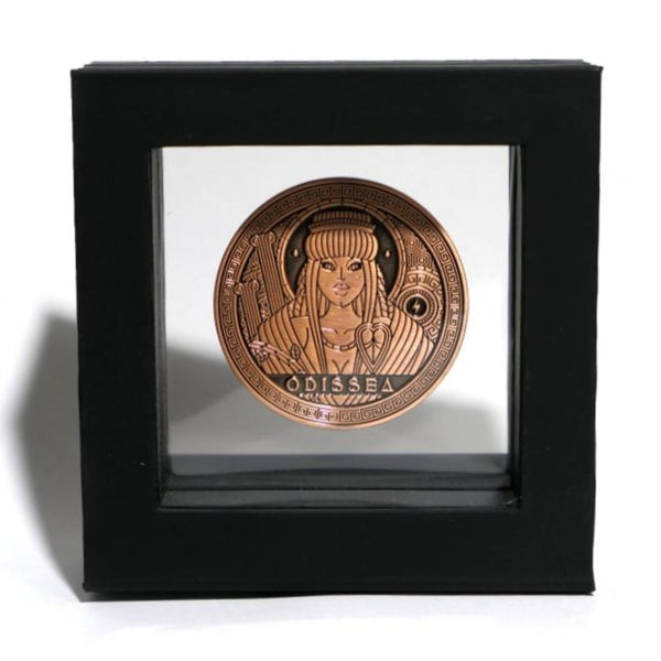 Odissea Tempesta Coin by Thirdway Industries Playing Cards in Display Case