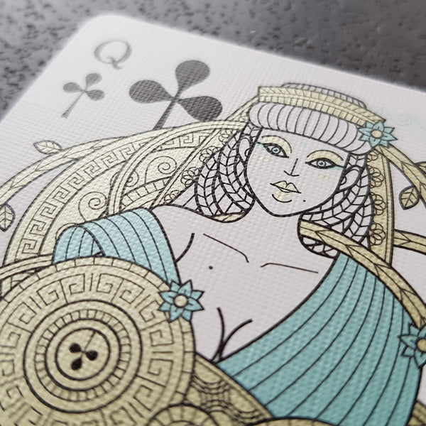 Odissea Minerva Neptune Playing Cards by Thirdway Italy 2-Deck Set