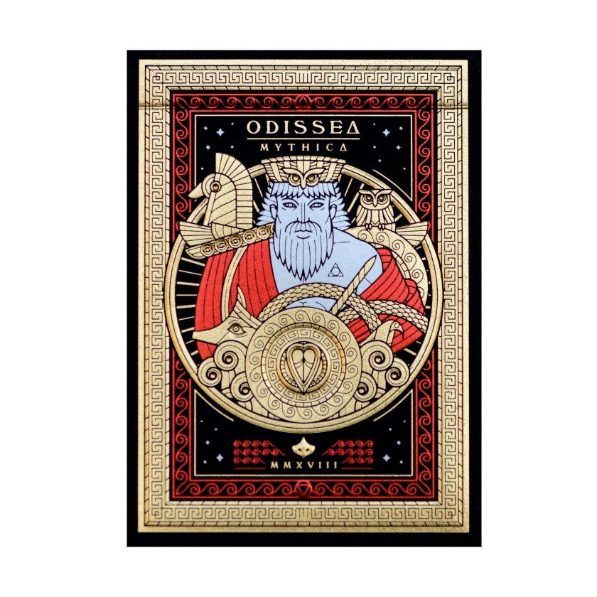 Odissea Mythica Playing Cards Limited Edition by Thirdway Industries Italy