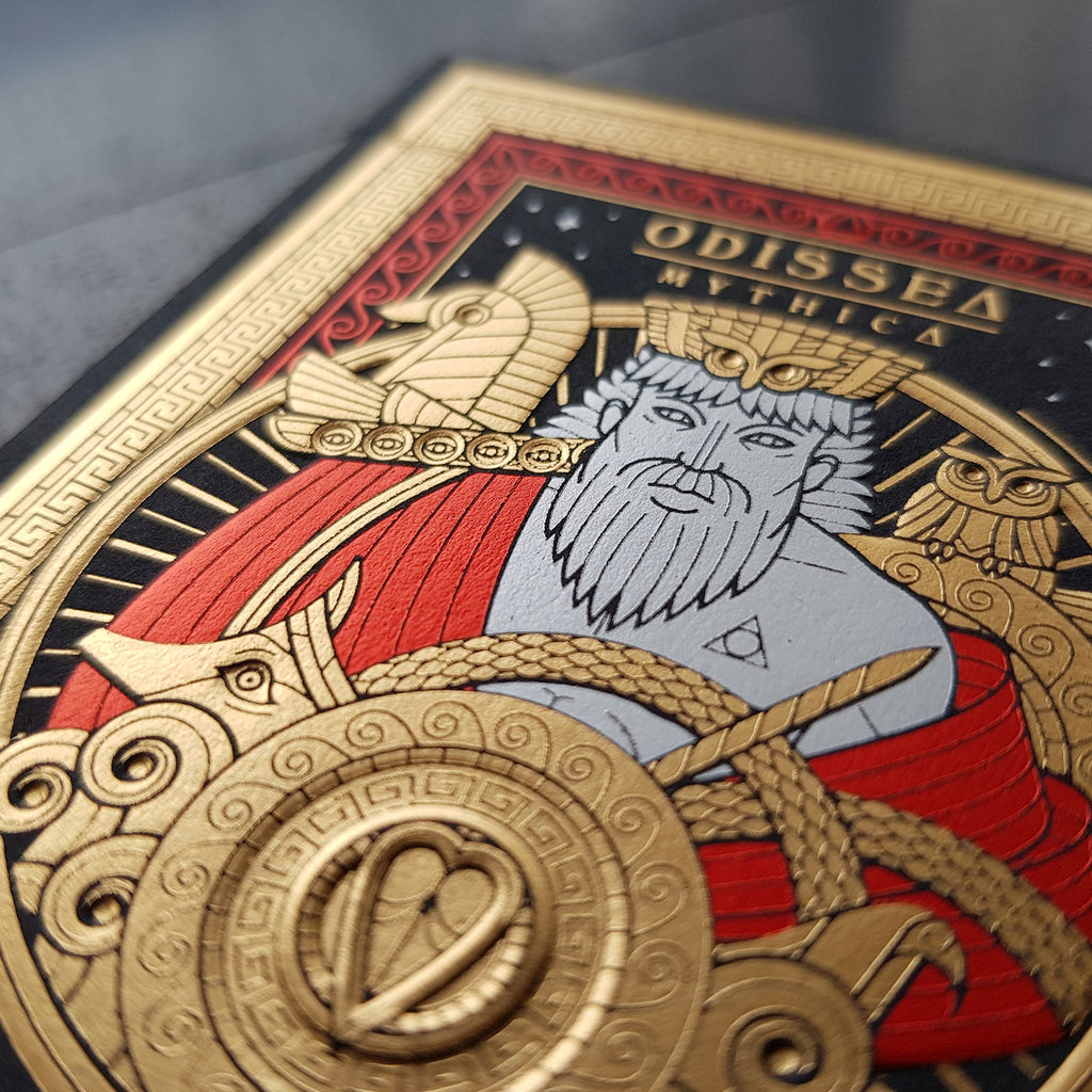 Odissea Mythica Playing Cards by Thirdway Rare Limited Edition #1561