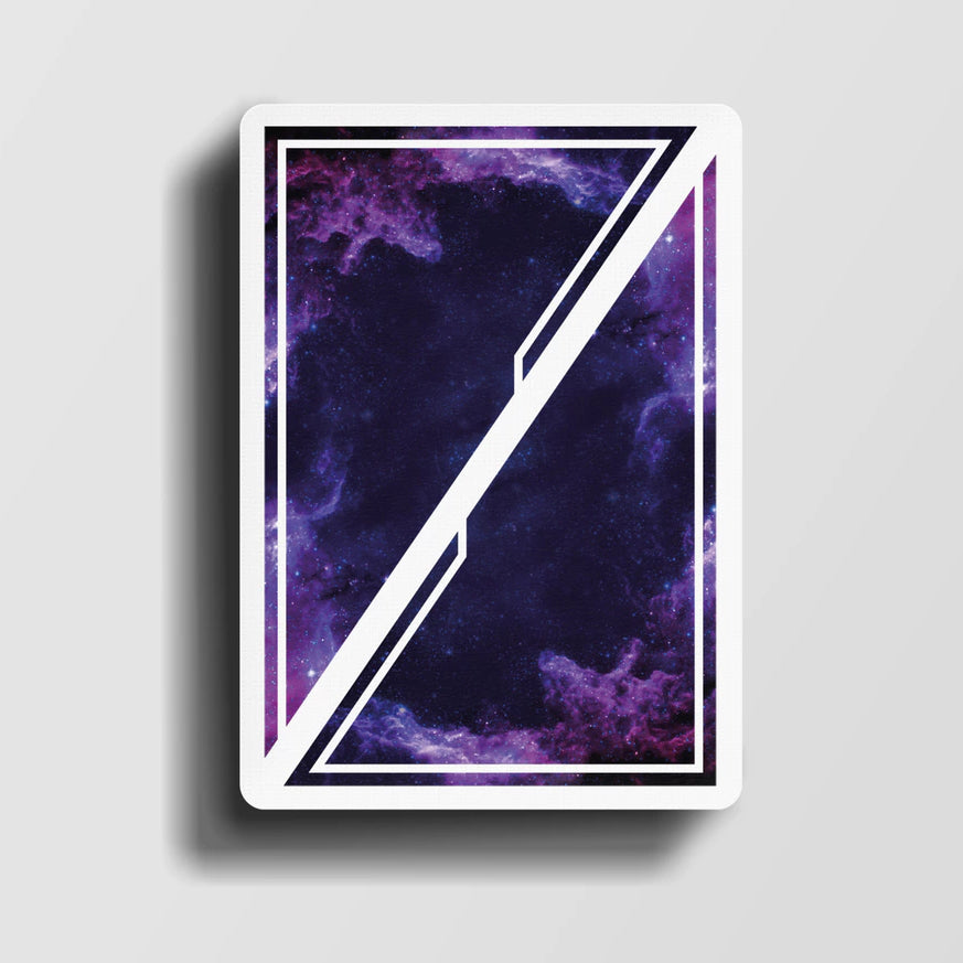 Odyssey Nova Playing Cards Purple Edition The Universe in Your Hands