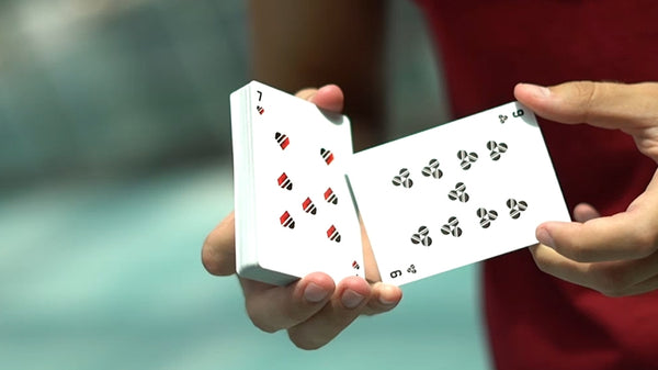 Odyssey v3 Playing Cards Aether Red Edition The Universe in Your Hands
