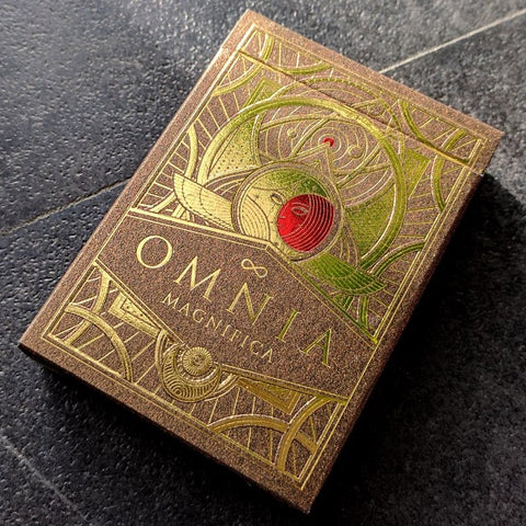 Omnia Magnifica Playing Cards Luxury Gold Rare Deck