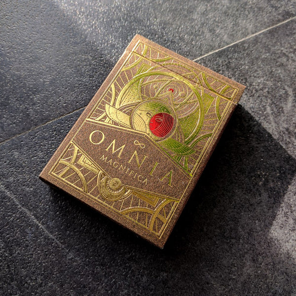 Omnia Magnifica Playing Cards Luxury Gold Very Rare Sealed Edition