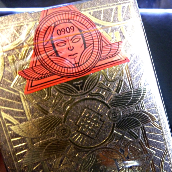 Omnia Magnifica Playing Cards Luxury Gold Rare Number Sealed Edition