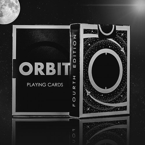 Orbit Playing Cards V4 Black Edition Release Space Cardistry deck