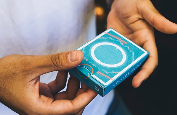 Orbit Playing Cards V5 Release Teal Edition Space Deck