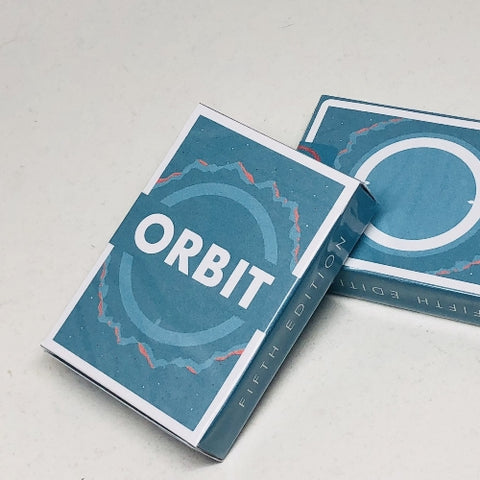 Orbit Playing Cards V5 Release Teal Edition Space Cardistry Deck