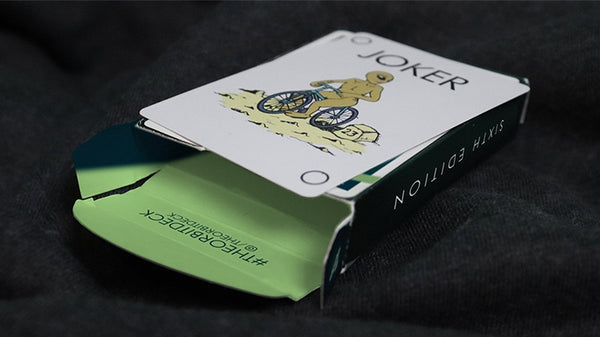 Orbit Playing Cards V6 Release Green Edition Space Cardistry Deck