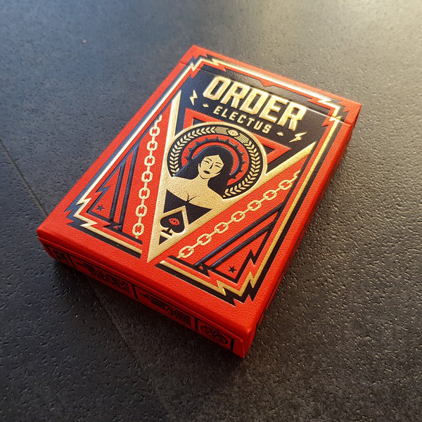 Order Electus Playing Cards Rare Limited Number Sealed Edition by Thirdway