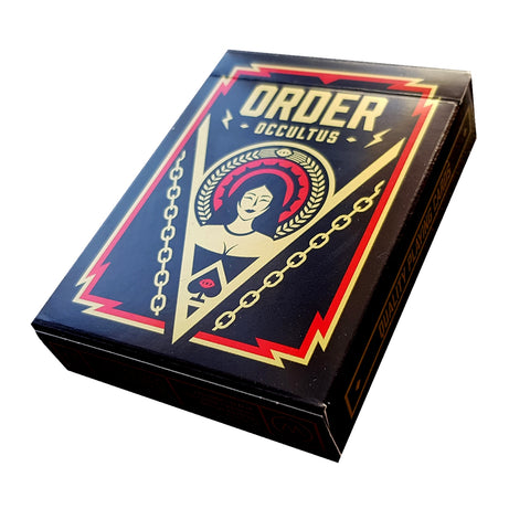 Order Occultust Playing Cards Rare Upper Party Access Only by Thirdway