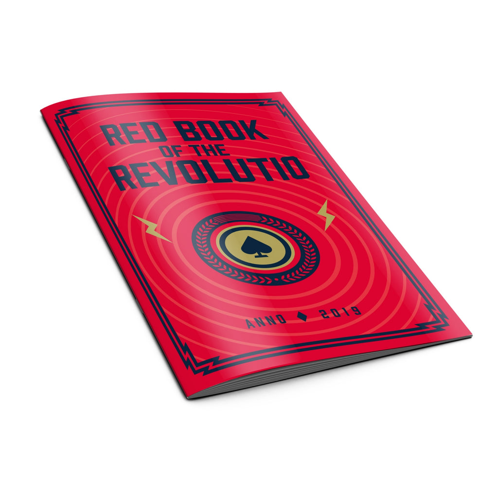 Order Playing Cards Booklet Red Book of the Revolutio by Thirdway