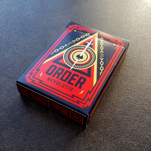 Order Revolutio Playing Cards Revolution deck by Thirdway Industries