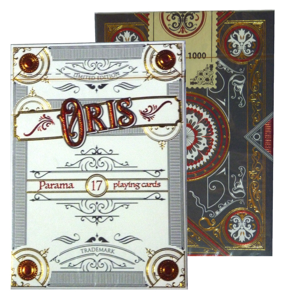 Oris Playing Cards Limited Edition Designed in Italy ~ White Borders