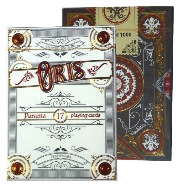 Oris Playing Cards Limited Edition Designed in Italy ~ Marking System Deck