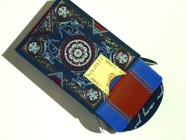 Oris Playing Cards Blue Limited Edition Designed in Italy