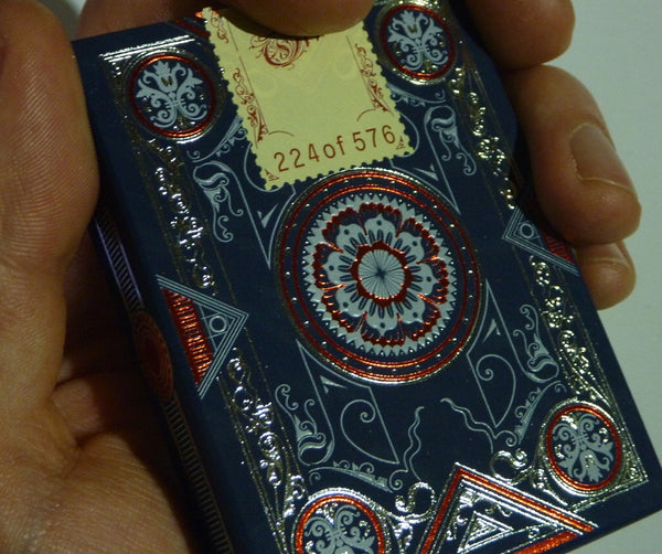 Oris Playing Cards Luxury Blue Limited Edition Designed in Italy