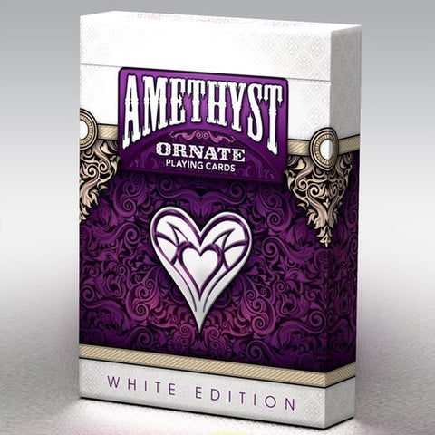 Ornate Playing Cards Amethyst Unbranded Edition Purple