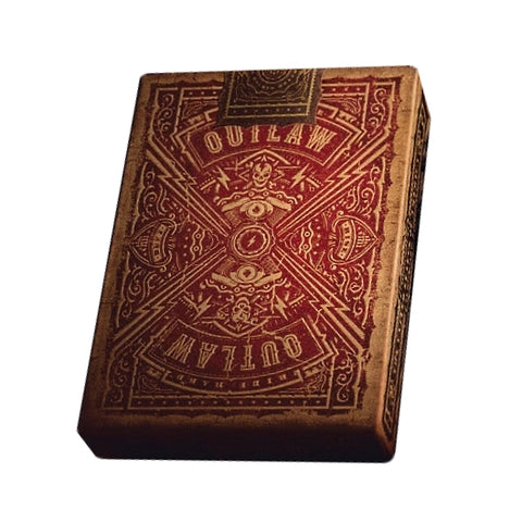 Outlaw Playing Cards by Kings & Crooks Rare Limited Marked Edition deck