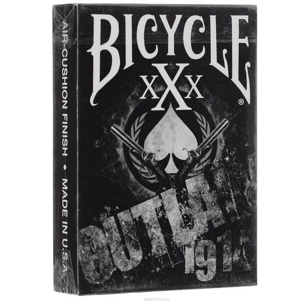 Outlaw xXx 1914 Bicycle Playing Cards Deck made in USA