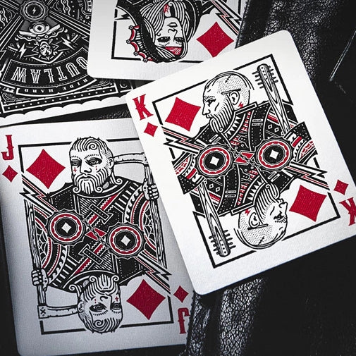 Outlaw Playing Cards by Kings & Crooks Rebel Deck