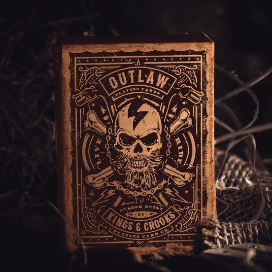 Outlaw Playing Cards by Kings & Crooks Limited Marked Edition deck