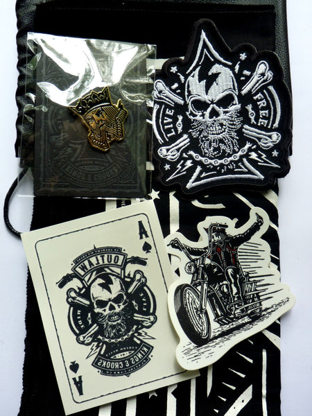 Outlaw Playing Card Series Swag Bag by Kings & Crooks