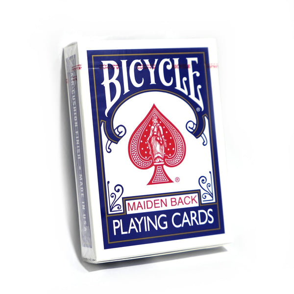 Bicycle Maiden Back Playing Cards Blue Air-Cushion finish