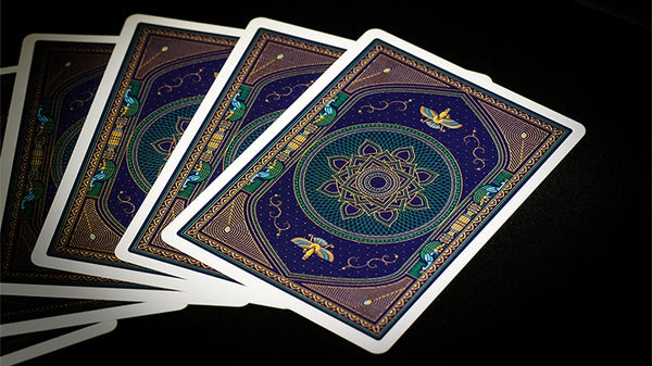 Pride of Peacocks Playing Cards by Arcadia Inspired by Persian history