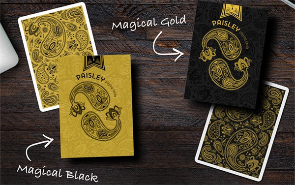 Paisley Magical Playing Cards Numbered and Signed Collectors 2-Deck Boxset