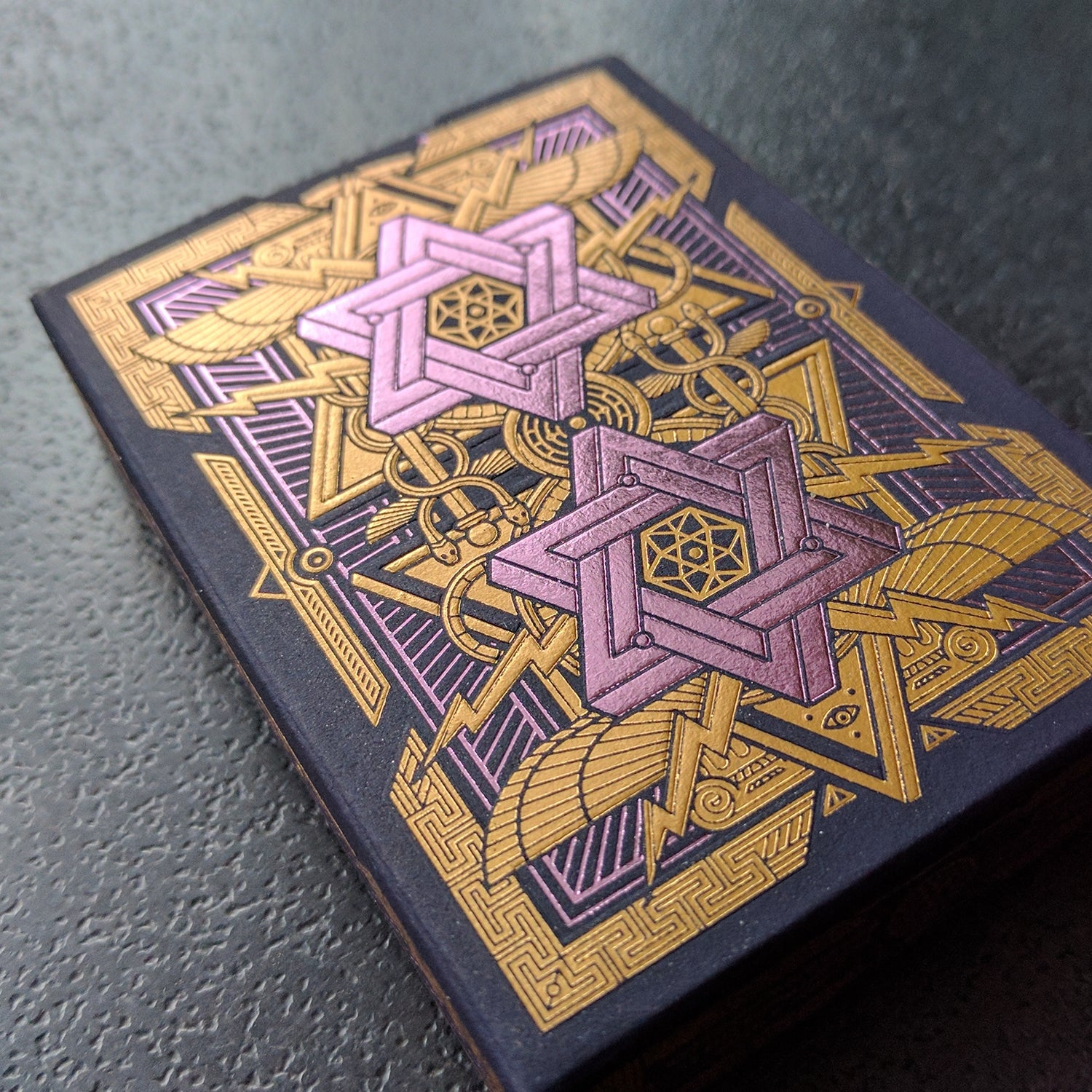 Pantheon Playing Cards Luxury Gold Foil Very Rare Sealed Edition