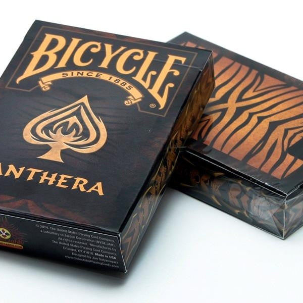 Buyworthy:Panthera Playing Cards Tiger Panther Poker Magic Deck Brand New Made in USA