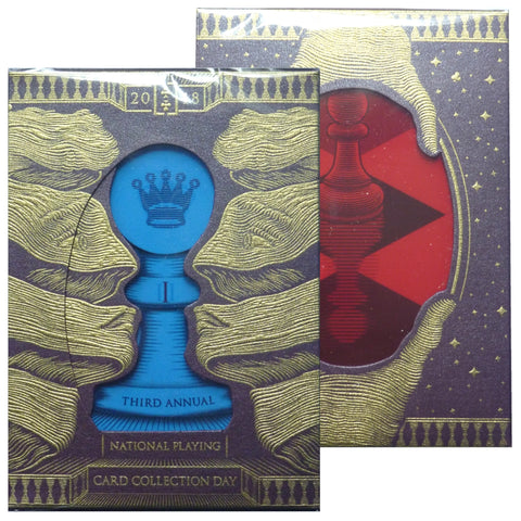 Pawn NPCCD 2018 National Playing Card Collection Day Purple Rare Deck