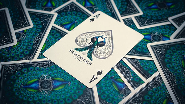 Peacocks Playing Cards 2018 Limited Edition Luxury Deck