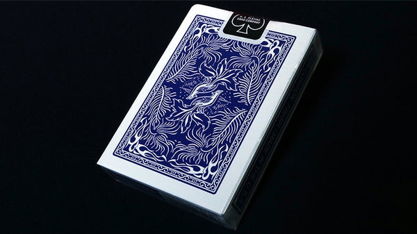 Phoenix Playing Cards Blue Parlour Edition Magicians Deck by Card Shark