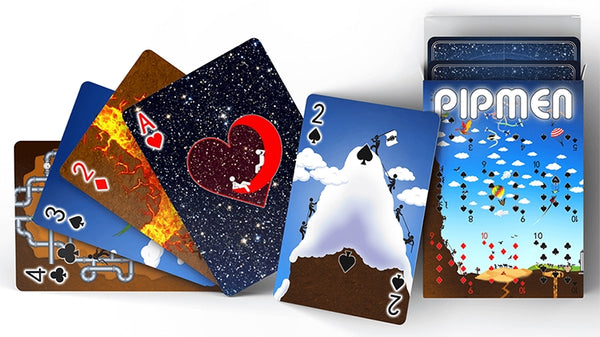 Pipmen Playing Cards Full World Edition V2 Deck