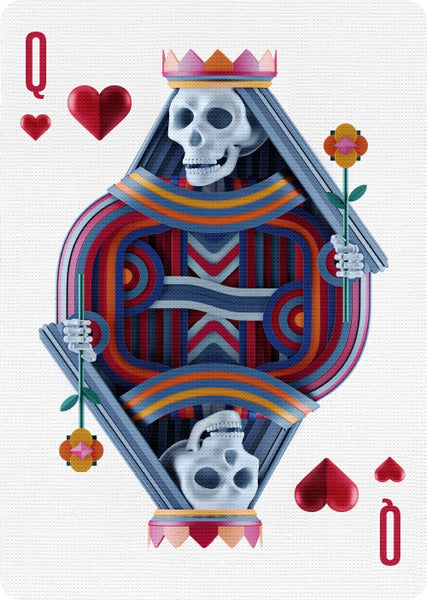 Play Dead Playing Cards by Riffle Shuffle Brand New In-Stock