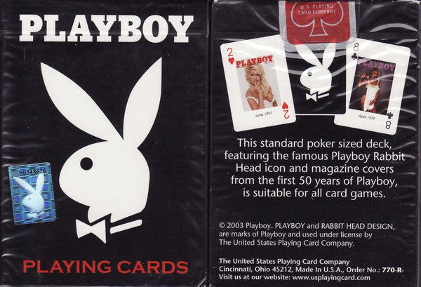 Buyworthy:Playboy Sexy Playing Cards 50yr Edition 2003 print Deck Highly Collectable