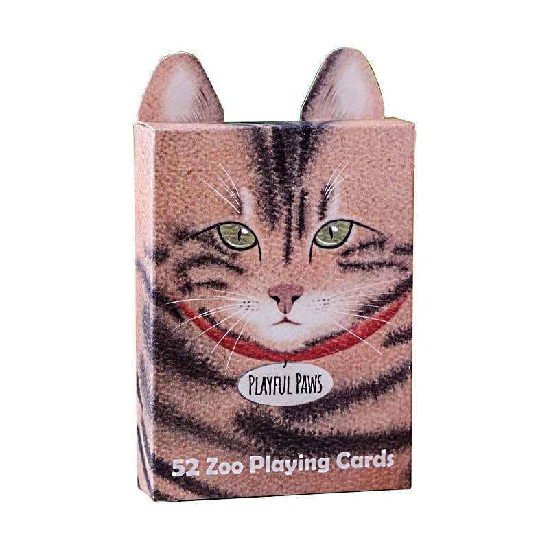Zoo 52 Playful Paws Playing Cards By EPCC Cat Edition
