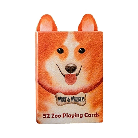 Zoo 52 Woof And Whiskers Playing Cards By EPCC Dog Edition